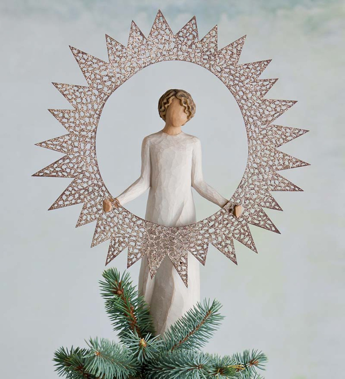 Starlight Willow Tree® Angel Tree Topper Figurine
