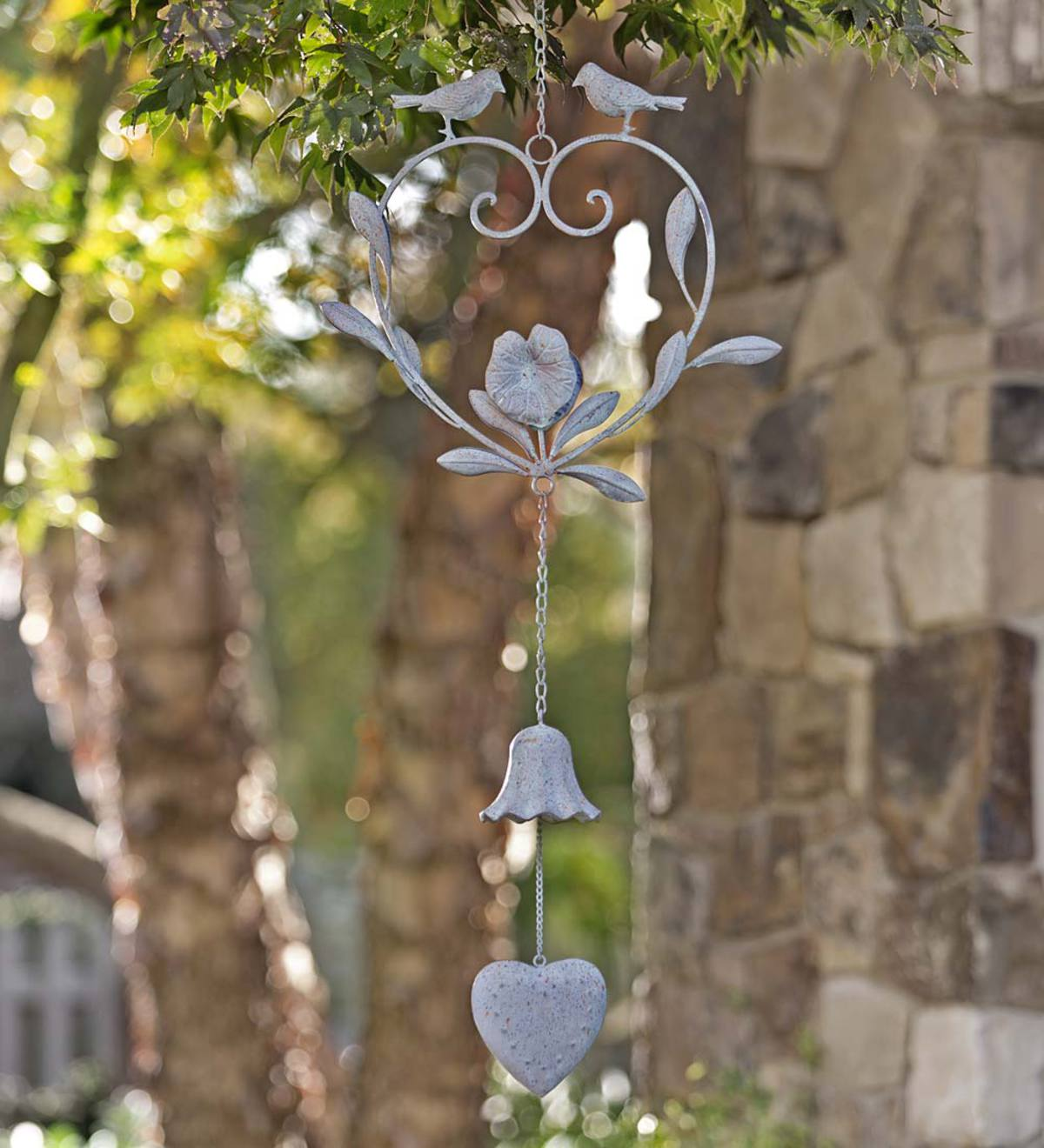 Birds and Heart Metal Bell