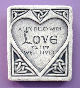 Celtic Love Stone by Carruth Studio