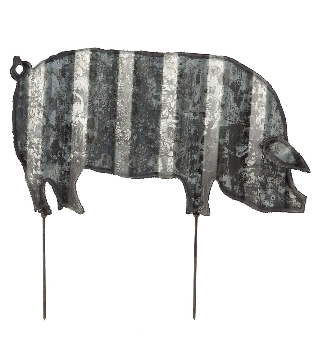 Corrugated Steel Animal Garden Stake