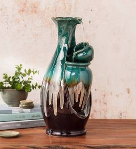 Ceramic Vase Indoor Fountain