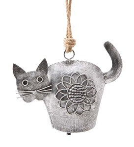 Outdoor Metal Cat Bell