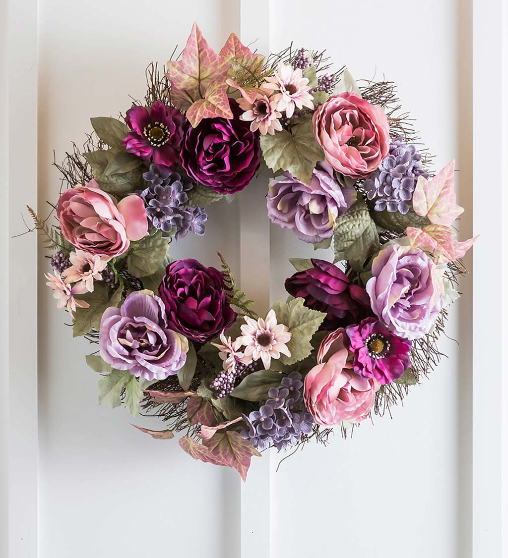 Floral Vine Wreath