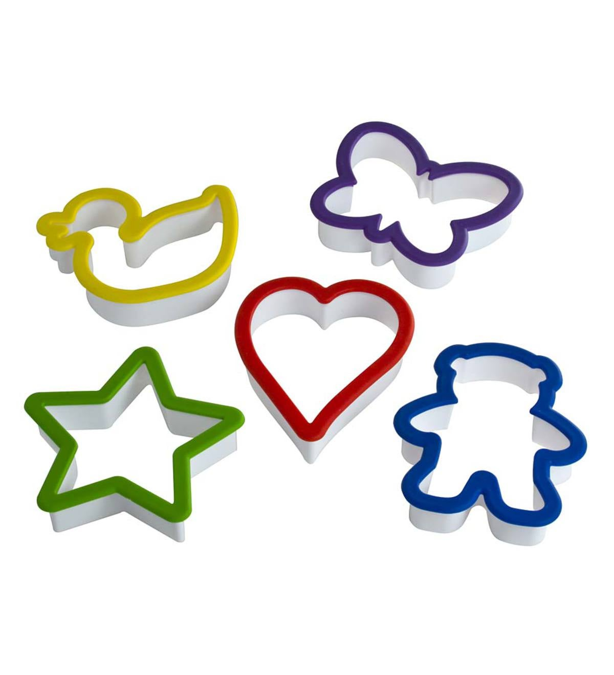 Kids' 5-Piece Cookie Cutter Set