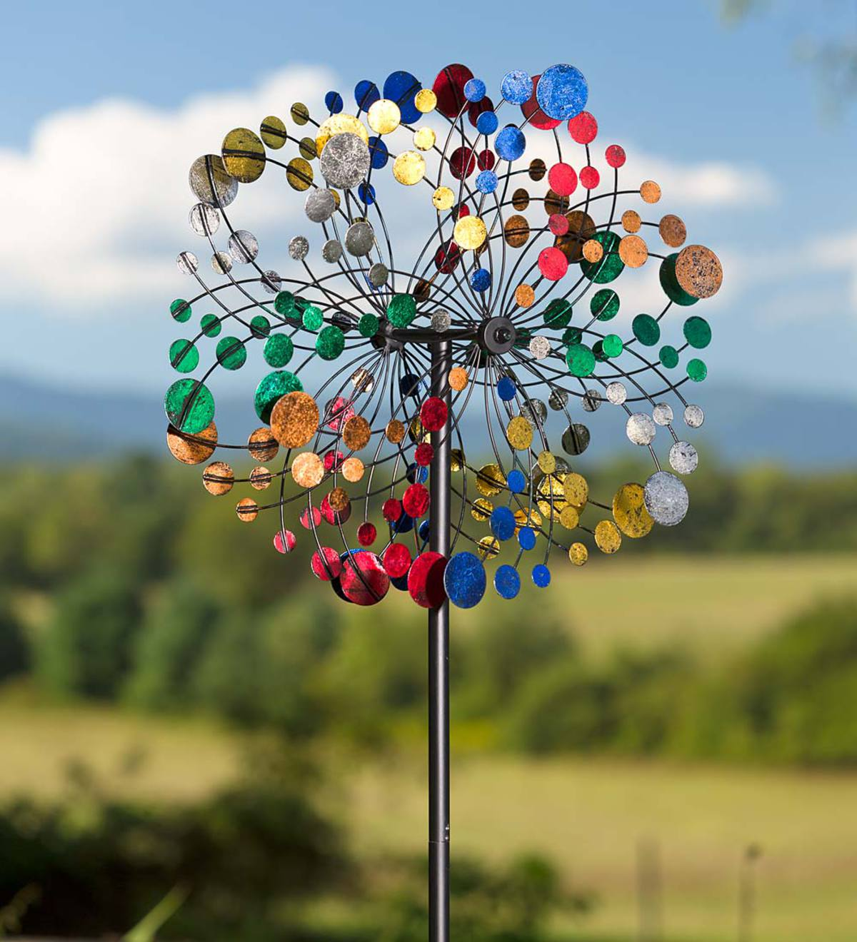 Bubbles Wind Spinner