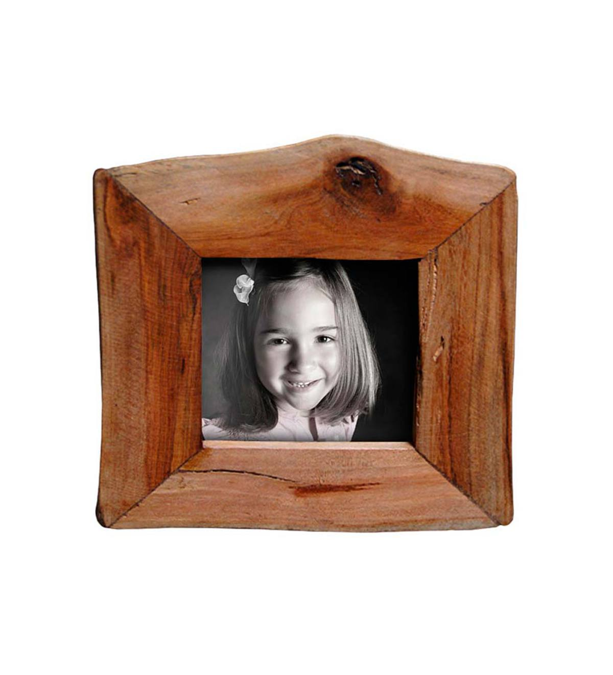 Reclaimed Natural Wood Frame 3.5