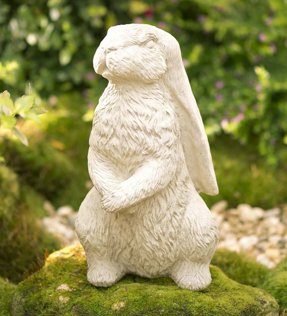 Vintage English Hare Statue - Classic