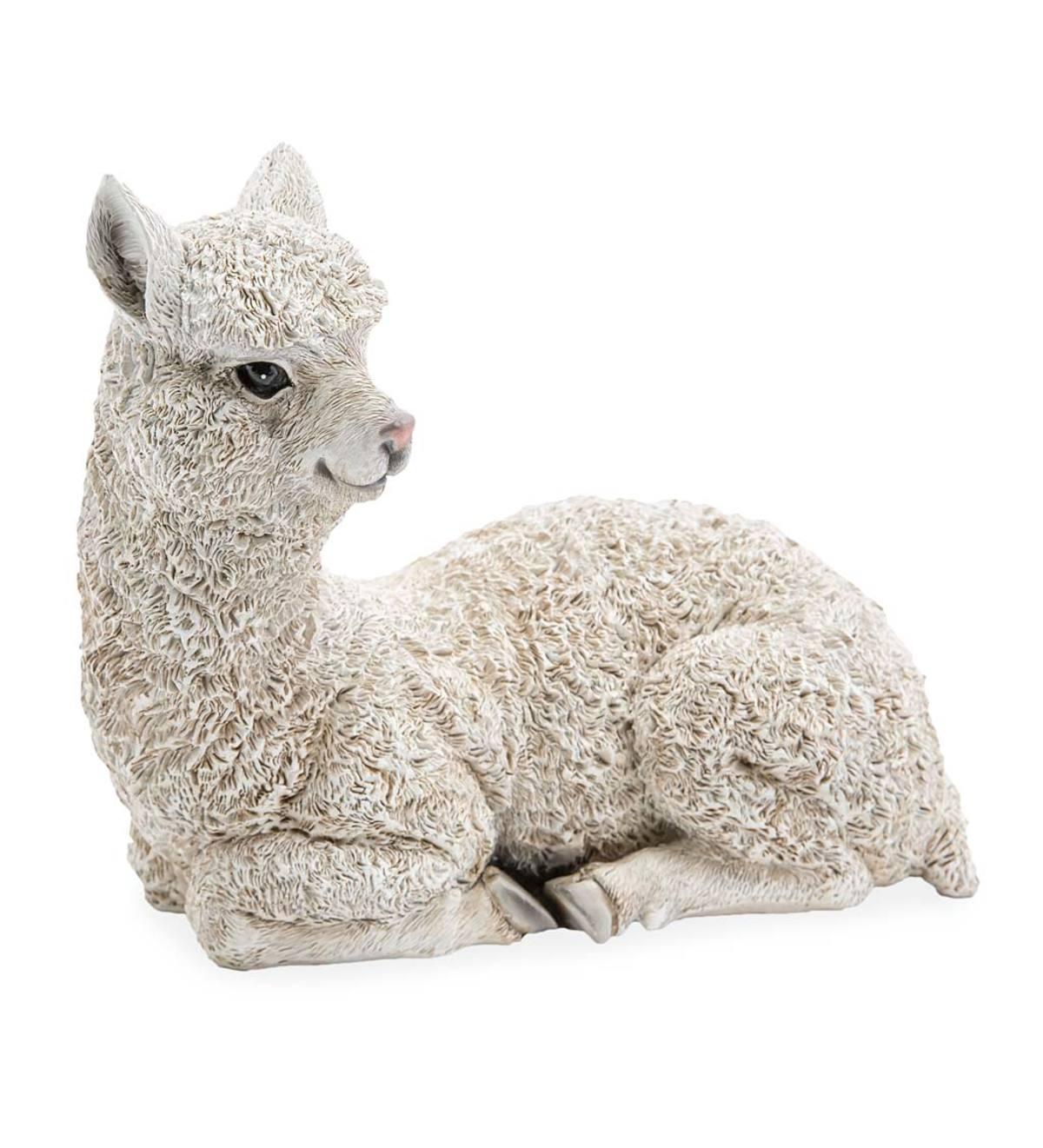 SWEN Products Hand Made Llama Alpaca Garden Stake Weathervane ~New~