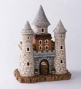 Solar Lighted Fairy Castle