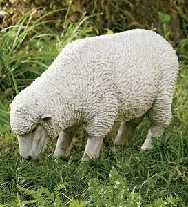Sheep Statue - Grazing