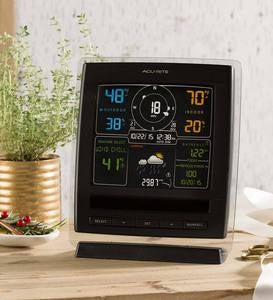 Pro 5-in-1 Color Weather Station with Weather Ticker