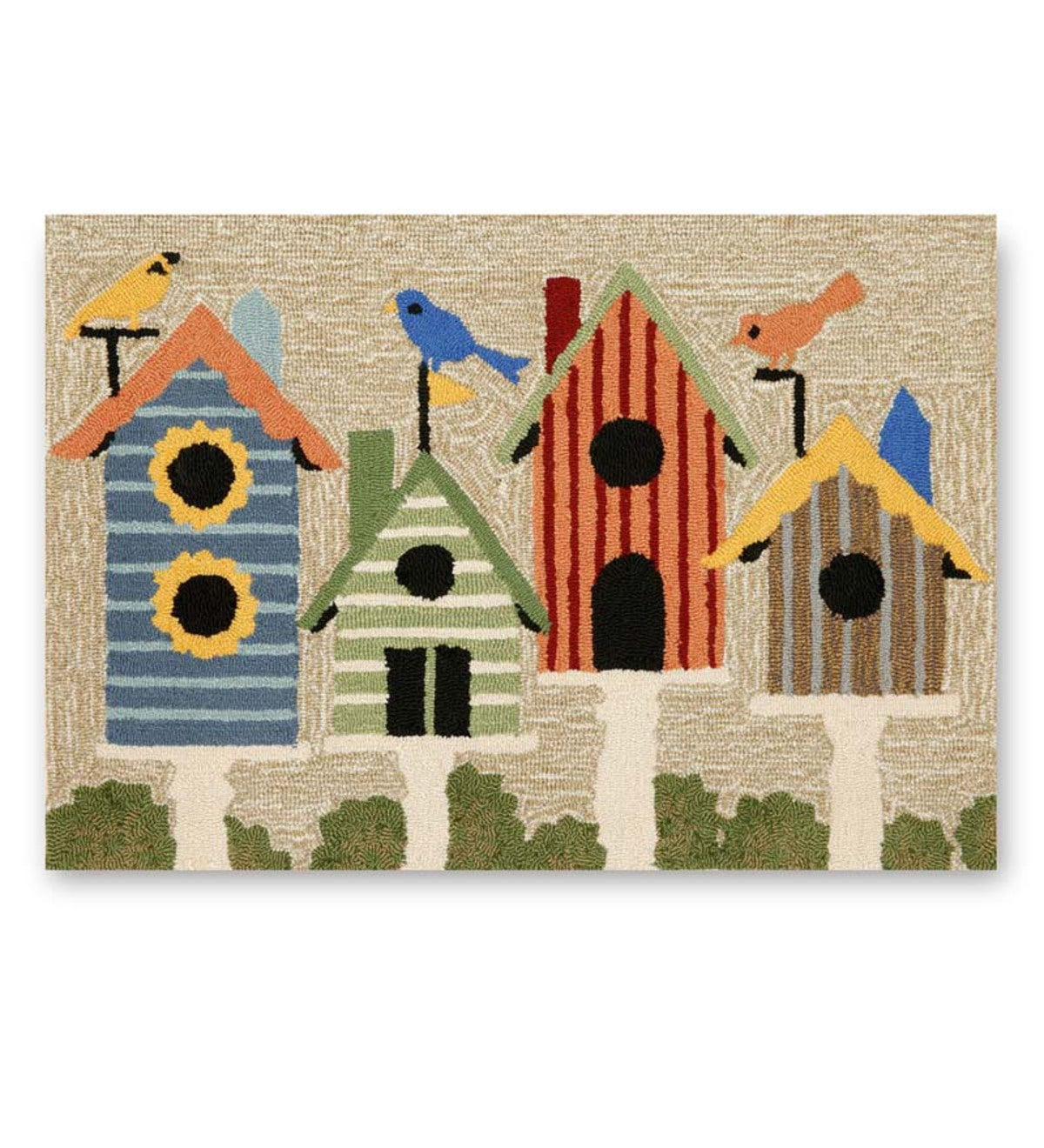 Birdhouse Indoor/Outdoor Accent Rug 20