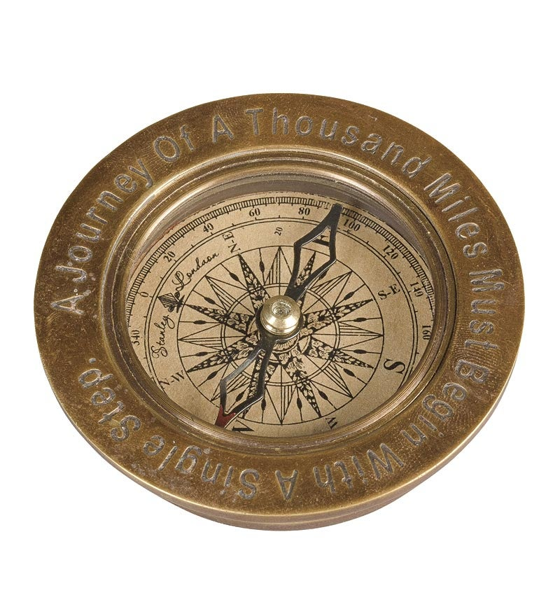 Antique Brass Compass swatch image