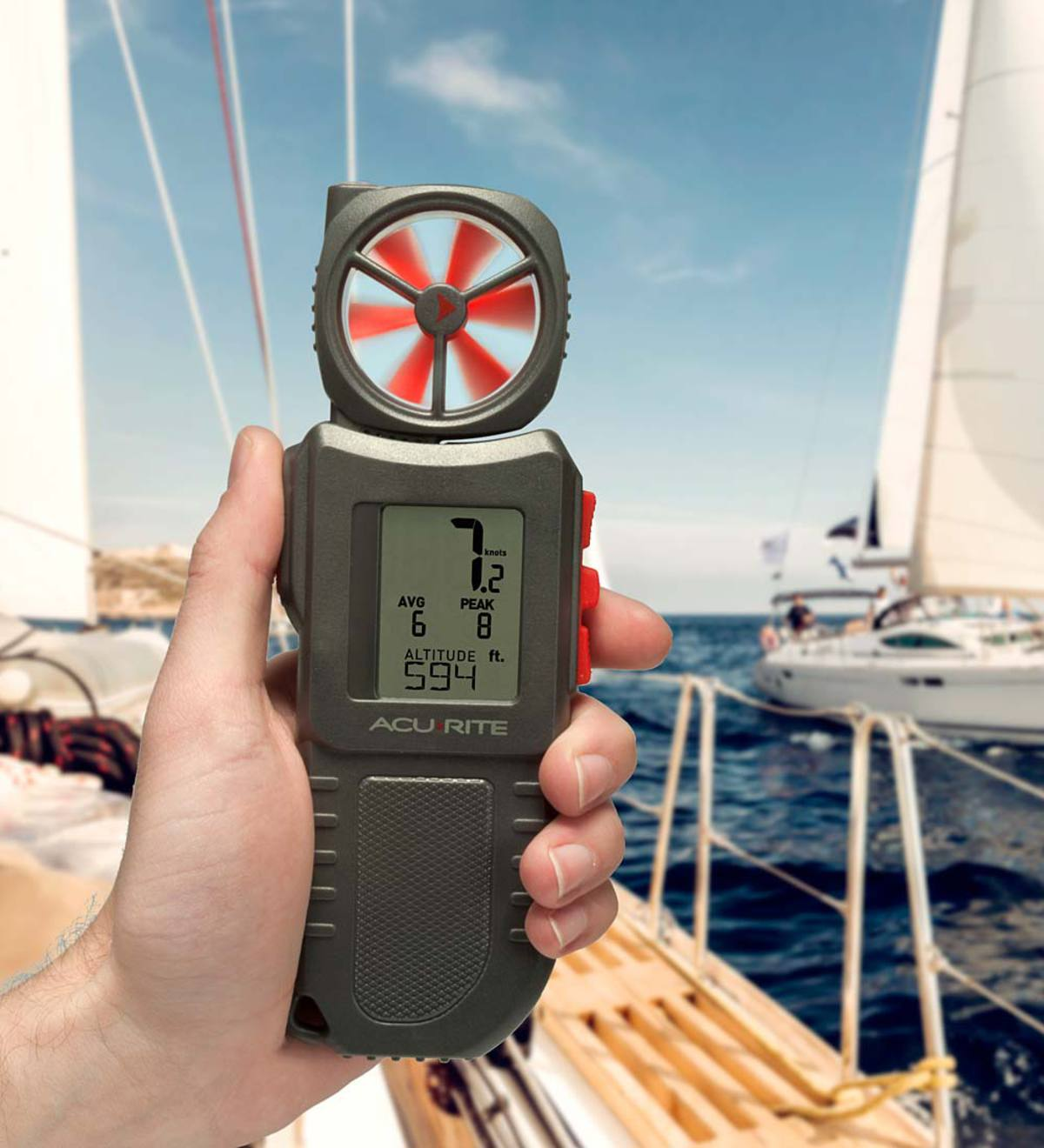 Portable Multi-Function Anemometer