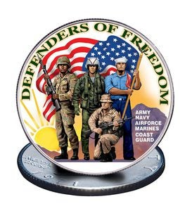 U.S. Armed Forces Dollar Coin