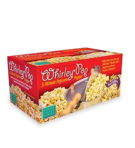 Whirley Pop™ Stovetop Popcorn Popper with Popping Kit