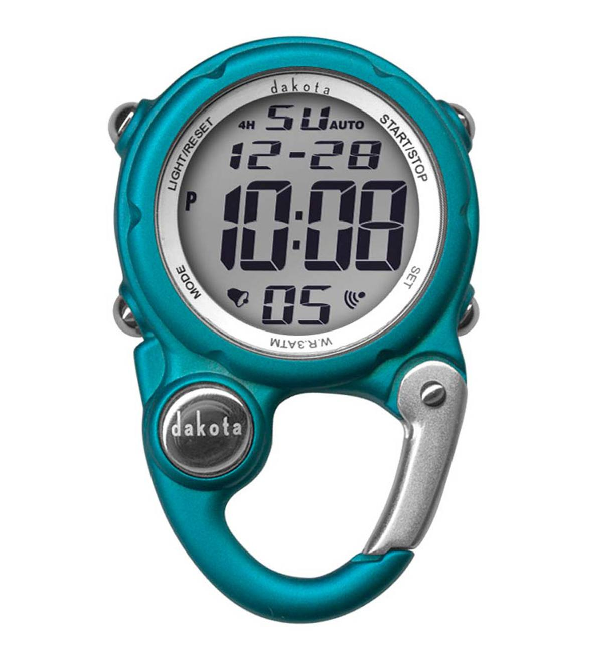 Mini Clip Digital Watch - Aqua