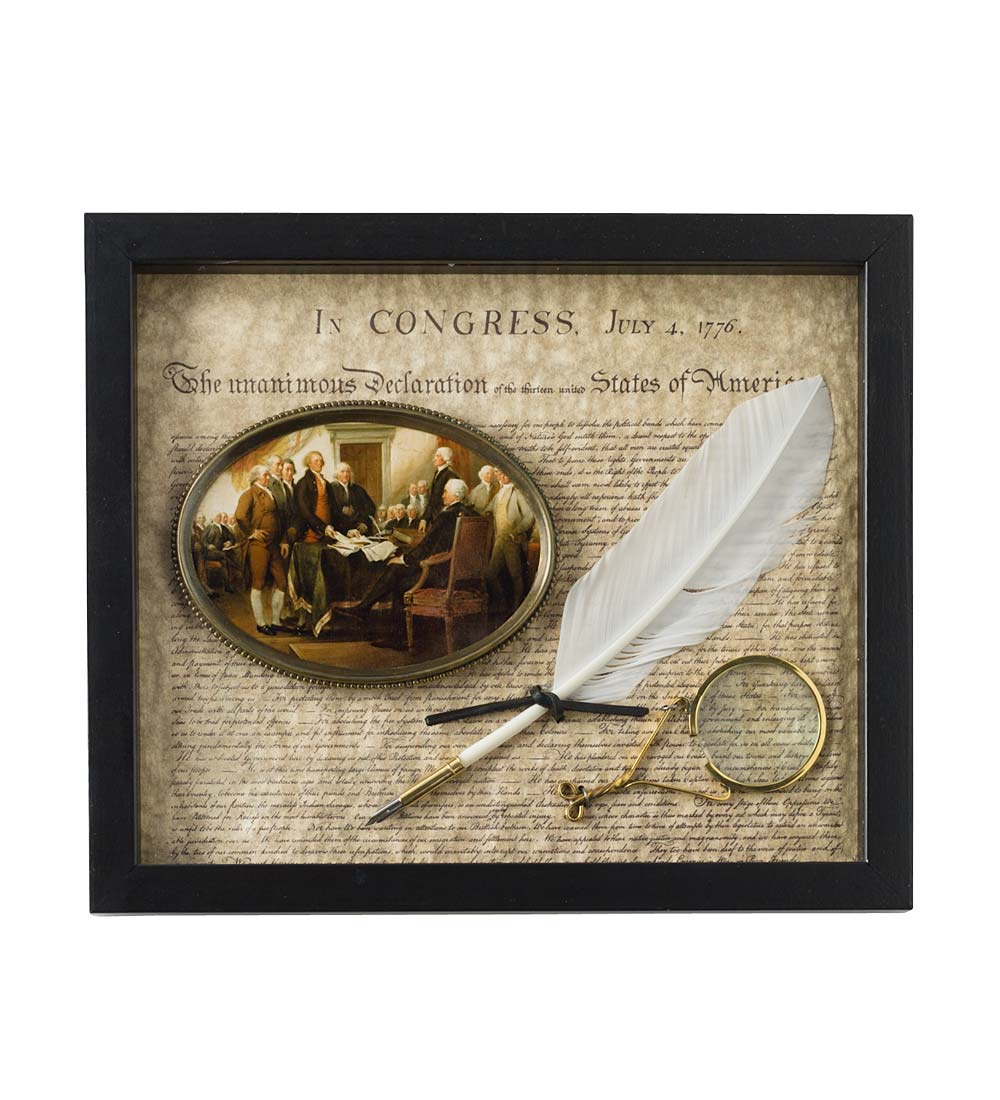 American Independence Shadow Box