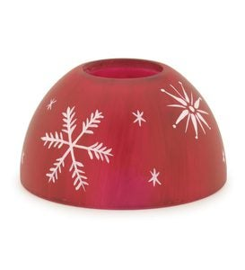 Decorative Lamp Shade For Signature Aurora Candle Lamp - Pink Floral