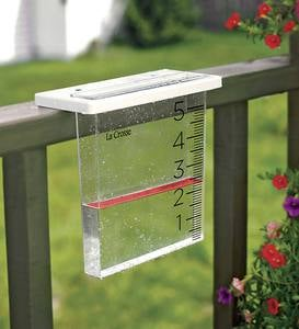 The Waterfall Rain Gauge by La Crosse Technology™