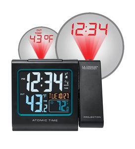 Atomic Projection Alarm Clock by La Crosse Technology®