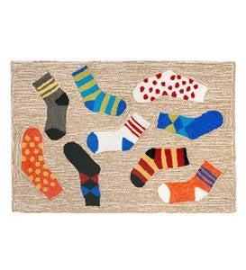 Lost Socks Accent Rug