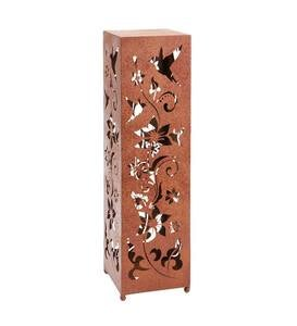 <span>Birds and Flowers Large Metal Garden Pillar</span>