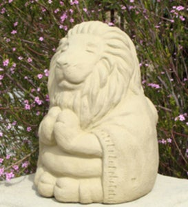 Small  Mediating Lion Statue