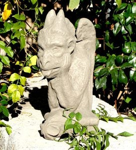 Handcrafted Small Gargoyle Garden Sculpture