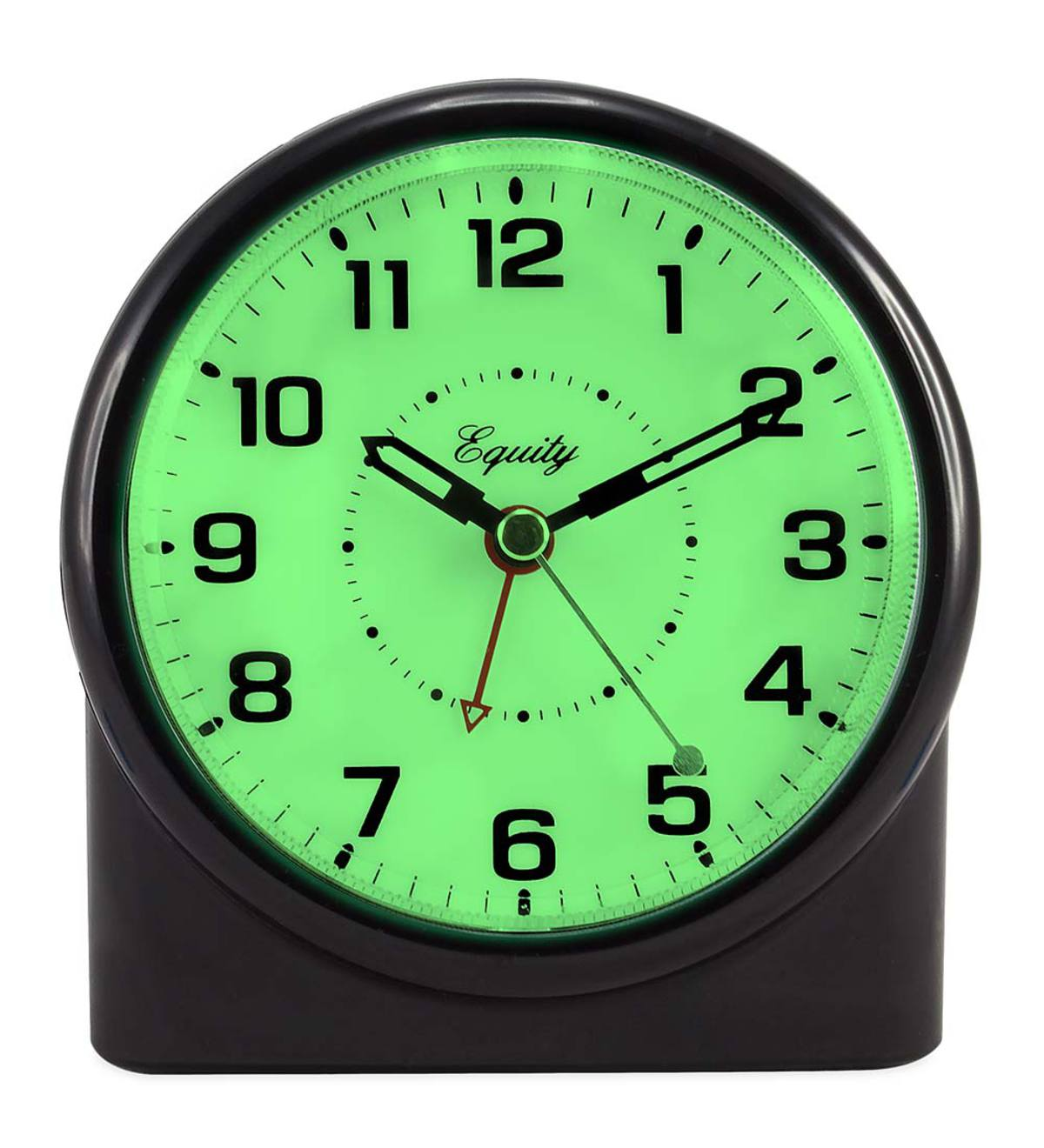 Backlit Analog Alarm Clock