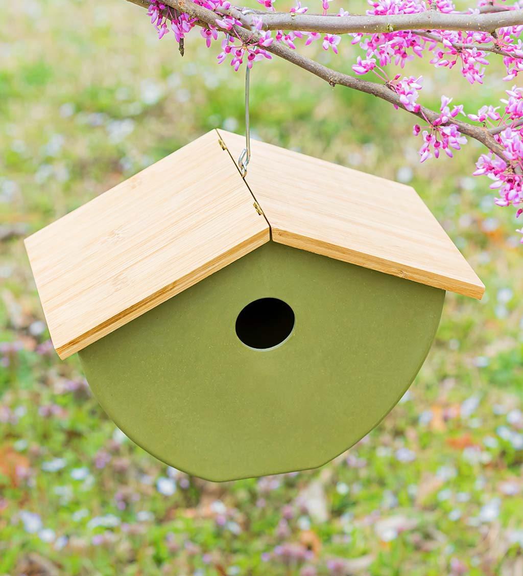 Full Circle Eco Conscious Hanging Bird House