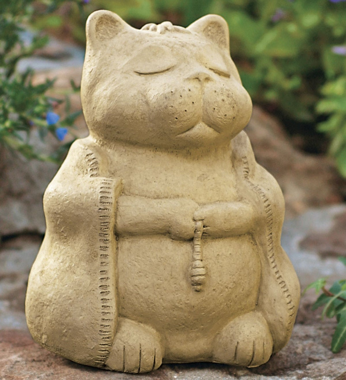 Large Meditating Cat