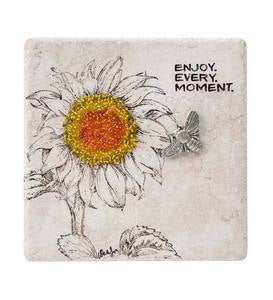 Enjoy Every Moment Ceramic Tile Plaque