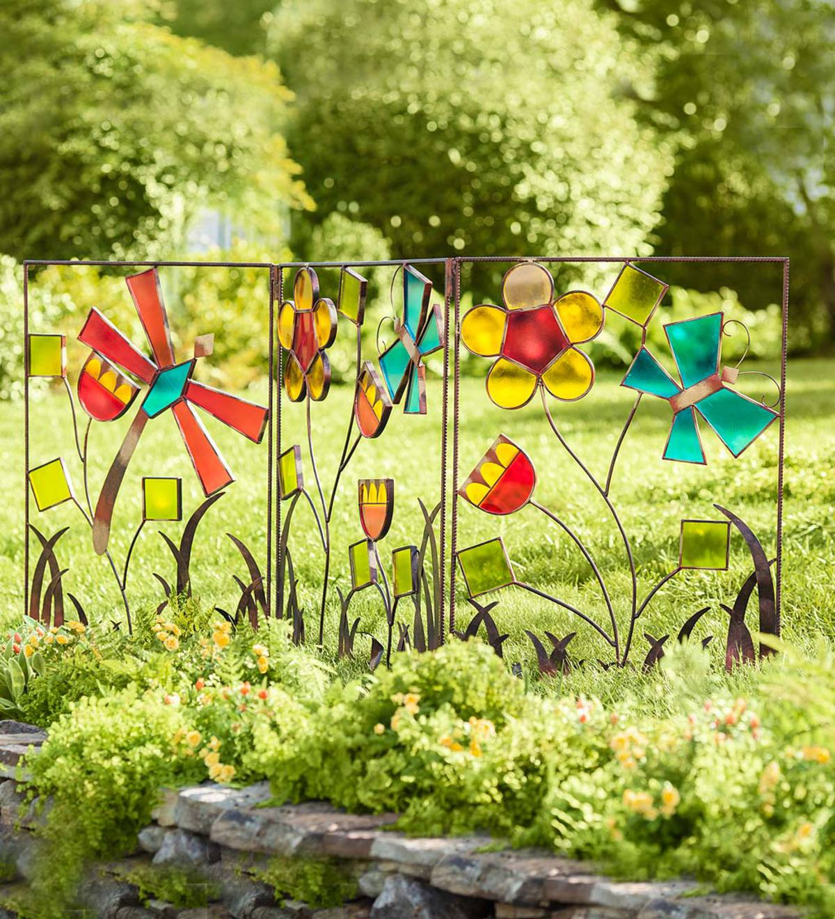 Metal and Acrylic Butterfly Screen