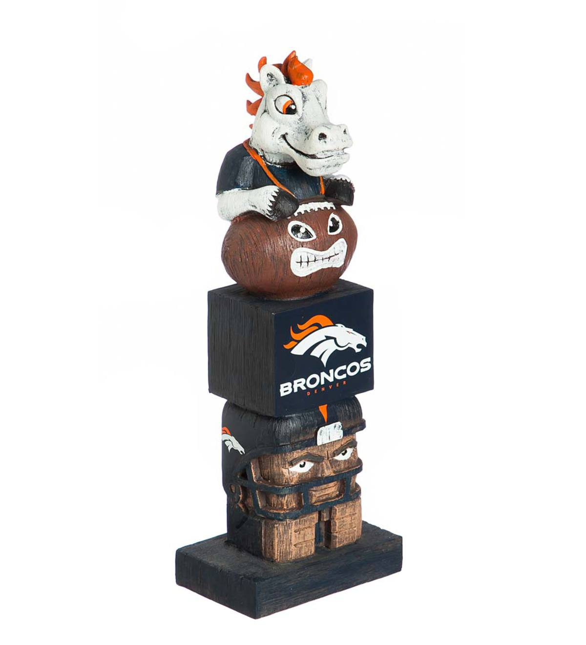Pro Football Fan Totem Pole