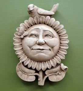Sunflower Wall Plaque by Carruth Studio