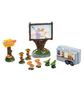 Fairy Fly-In Movie Theater Set