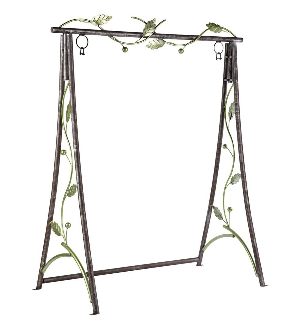 Metal Leaf Swing Stand
