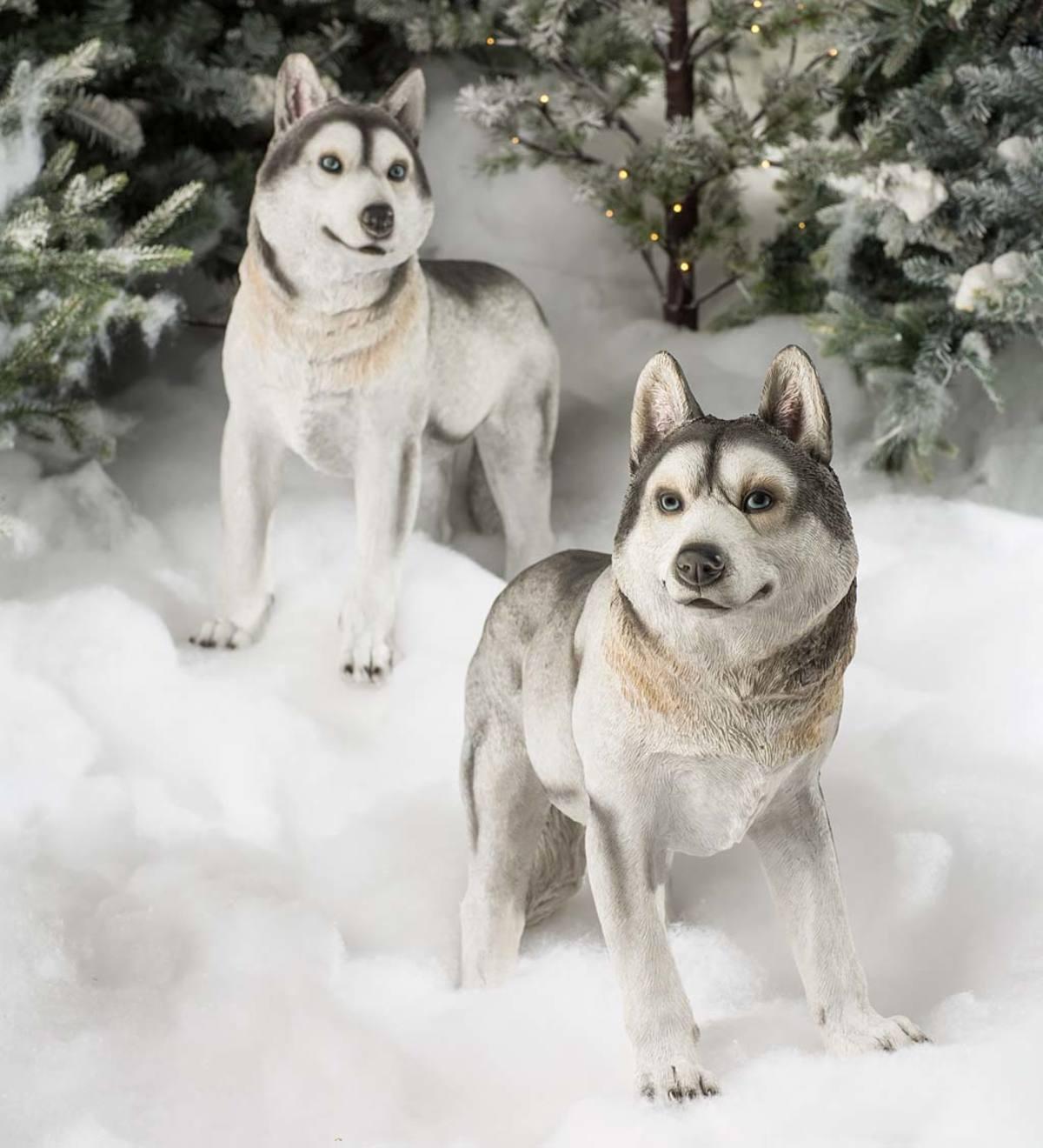 Siberian Husky Dog Lover Gift Personalised Hand Engraved Highball Glass Gift