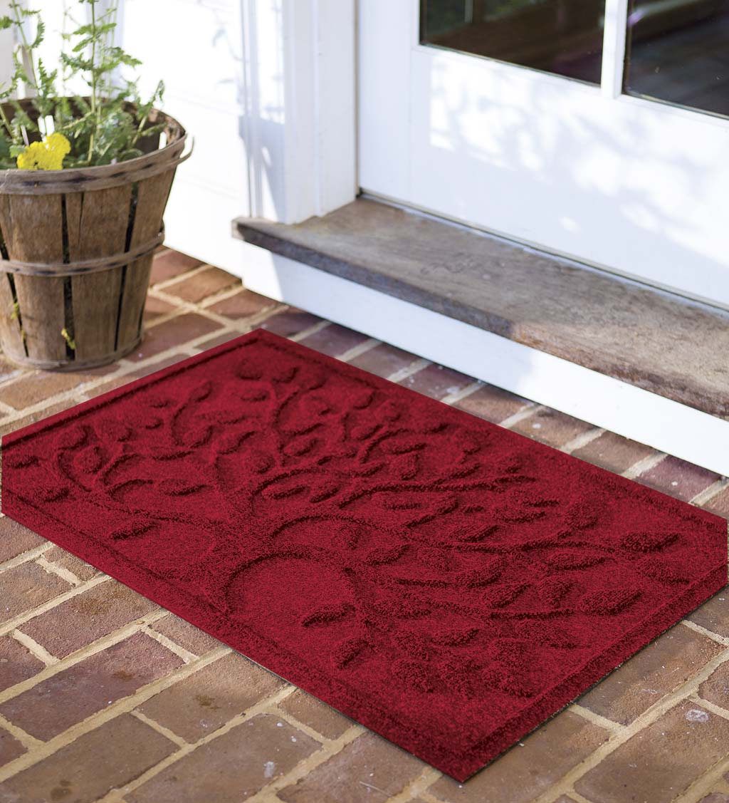 Waterhog Tree of Life Doormat, 3' x 5' - Red