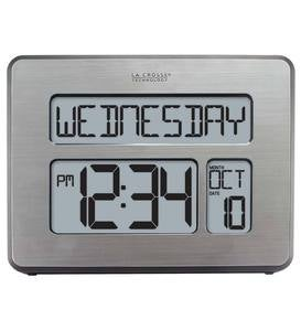 Lighted Atomic Digital Wall Clock