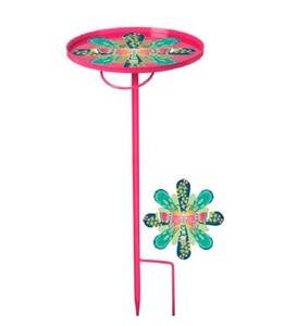 Fuchsia Portable Garden Stake Table