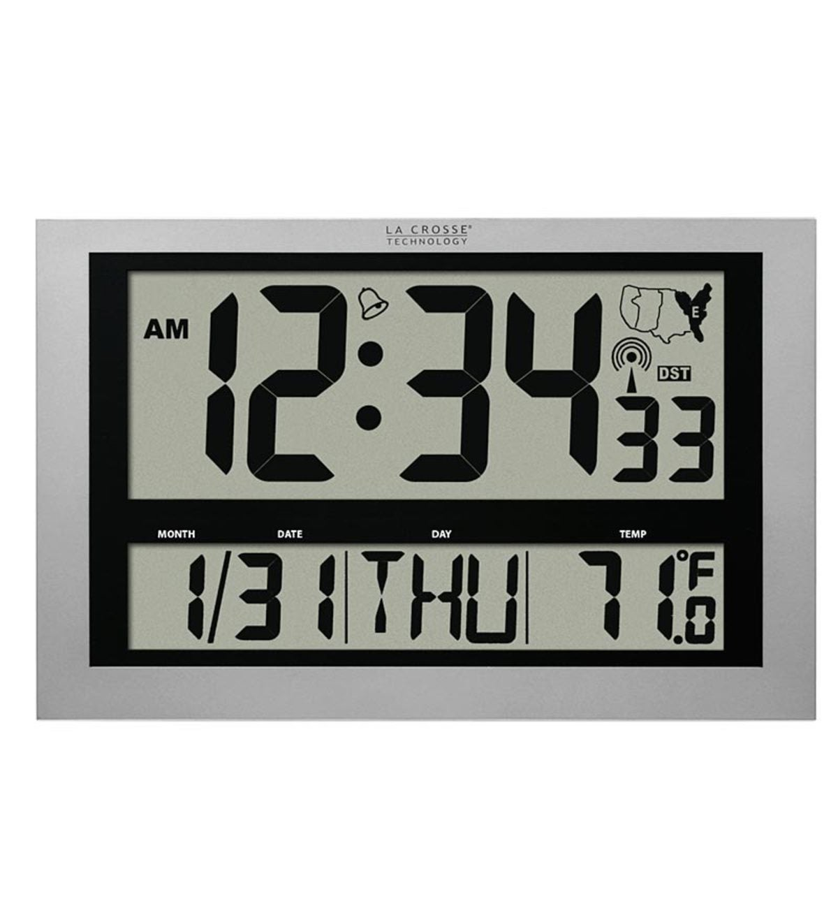 La Crosse Technology® Large Atomic Digital Clock