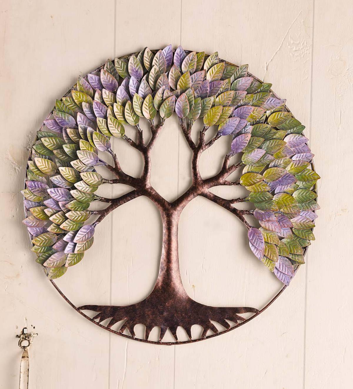 Circular Tree Of Life Wall Art