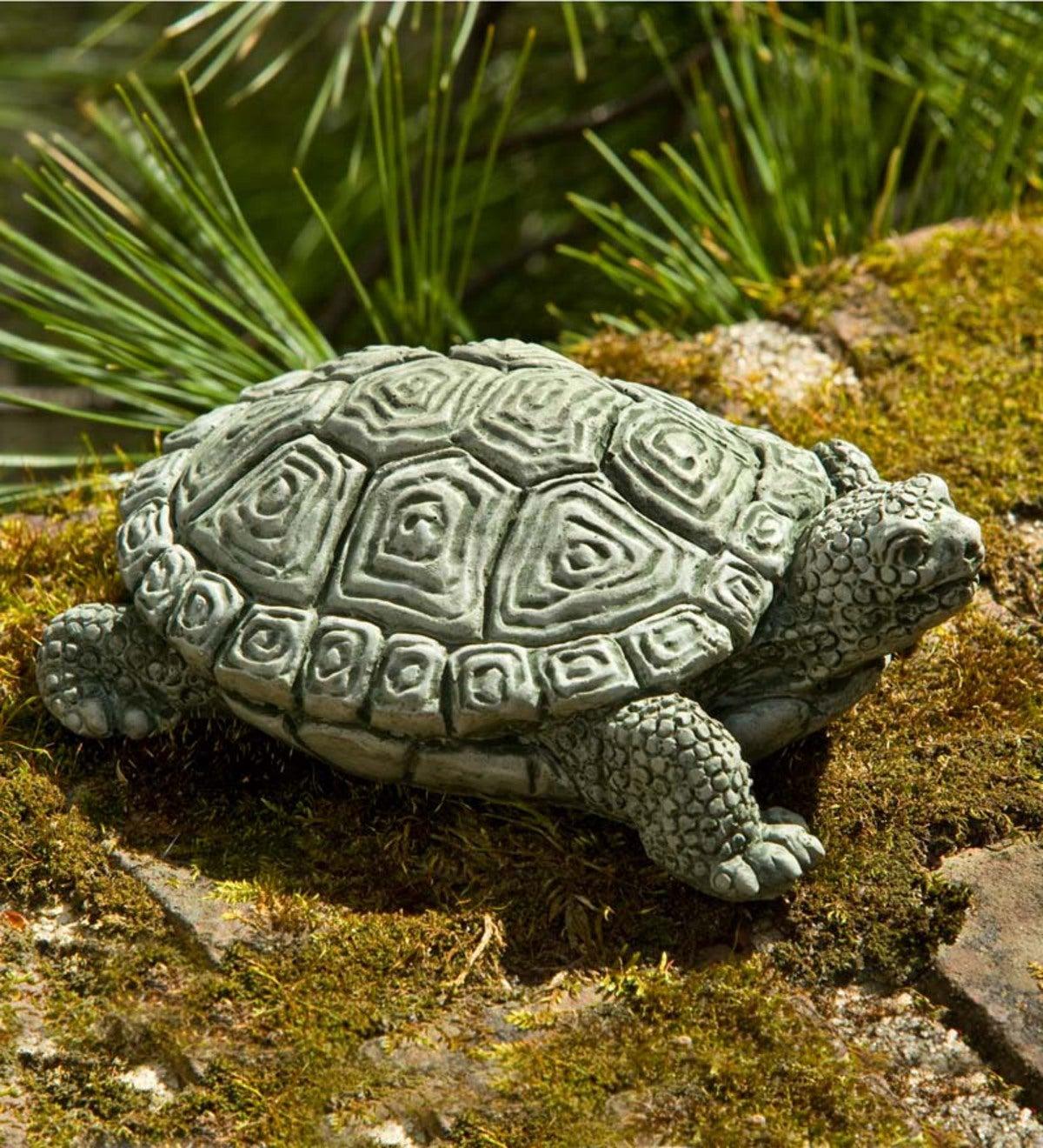 Cast Stone Turtle Garden Statue