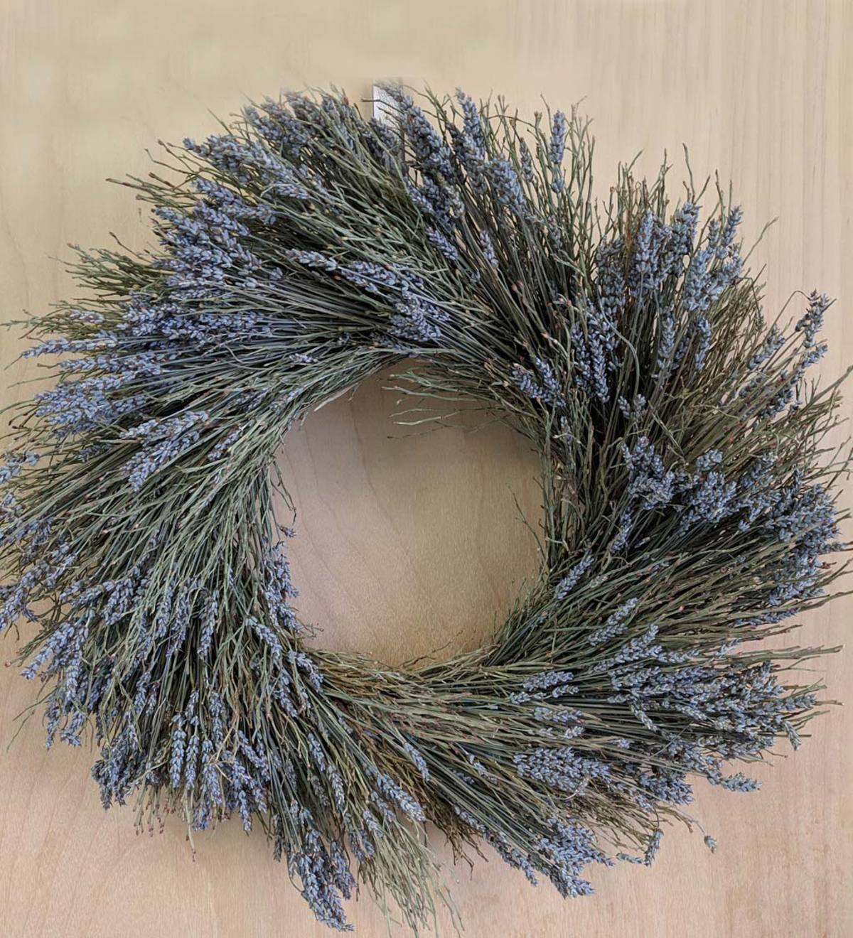 Preserved Lavender and Winterbud Wreath