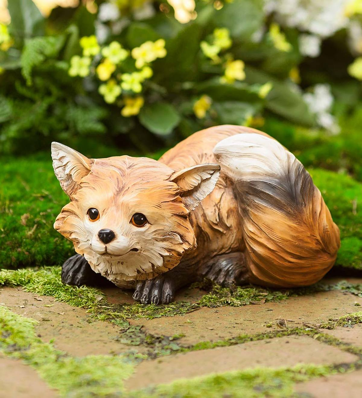 Furry Fox Indoor/Outdoor Sculpture