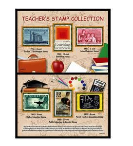 Salute to Teachers Historical Stamp Collection Gift Set