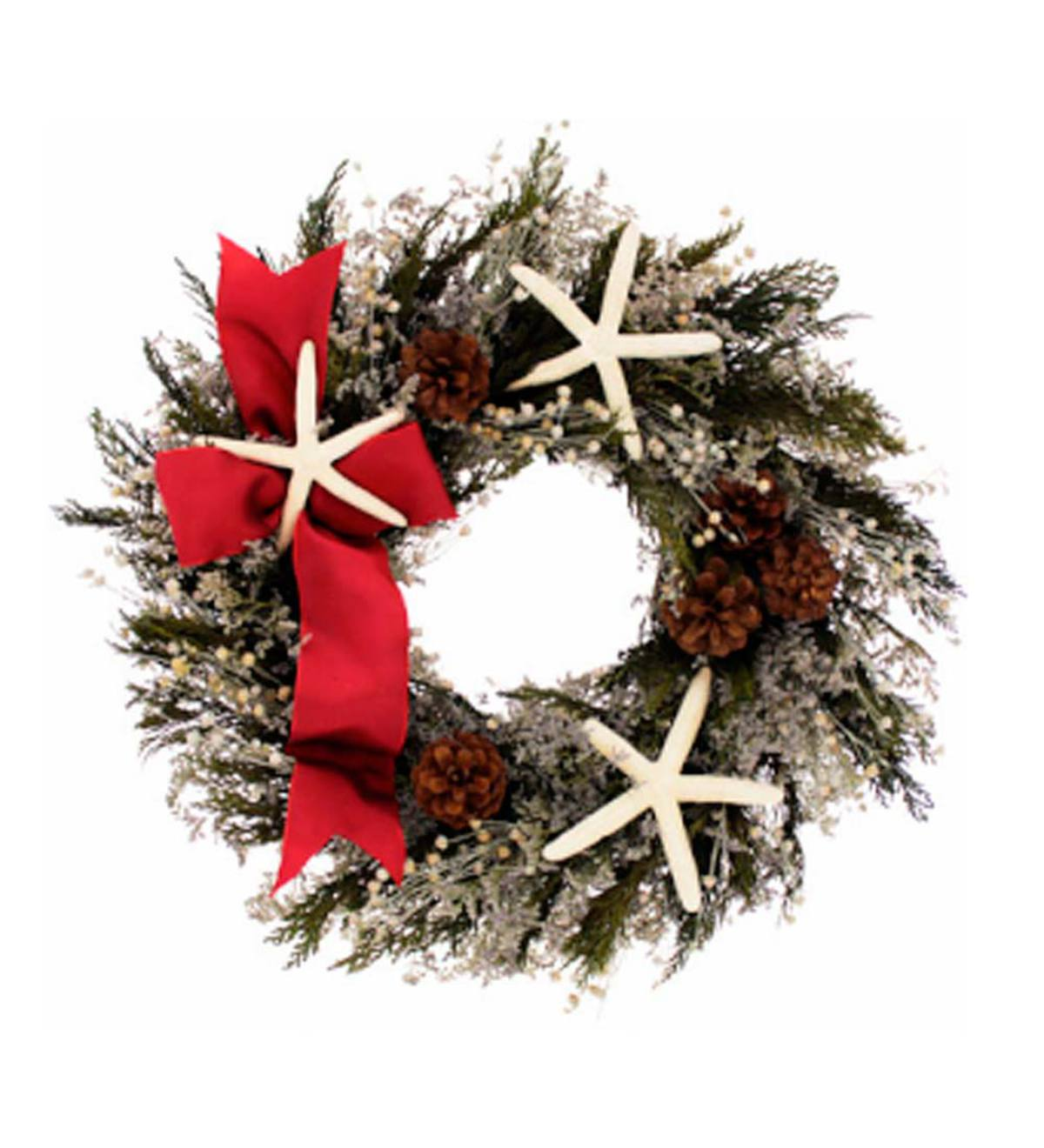 Sea Star Holiday Wreath