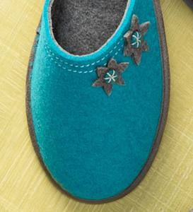 Acorn® Dorm Scuff Womens Slippers - Teal - Size 10